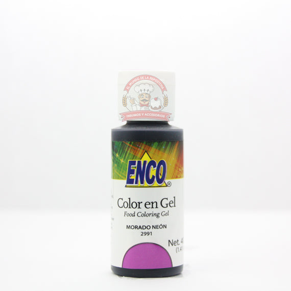 COLORANTE ENCO MORADO NEON BOTE 40ML