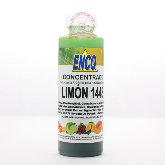 CONCENTRADO ARTIFICIAL ENCO 120ML LIMON 1448