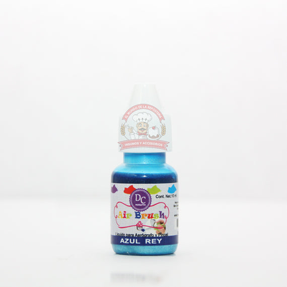 COLOR LIQUIDO METALICO GOTERO 10 ML AZUL REY