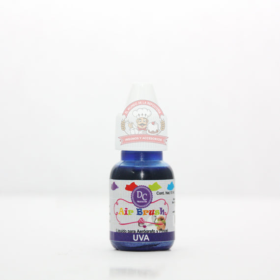 COLOR LIQUIDO METALICO GOTERO 10 ML UVA