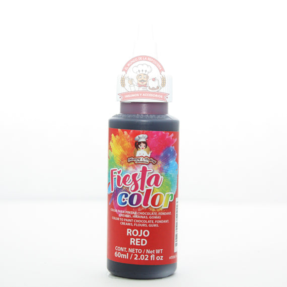 FIESTA COLOR ROJO 60ML