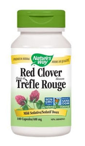 【clearance】 Nature's Way Red Clover Blossom and Herb, 100 caps EXP:2022/03