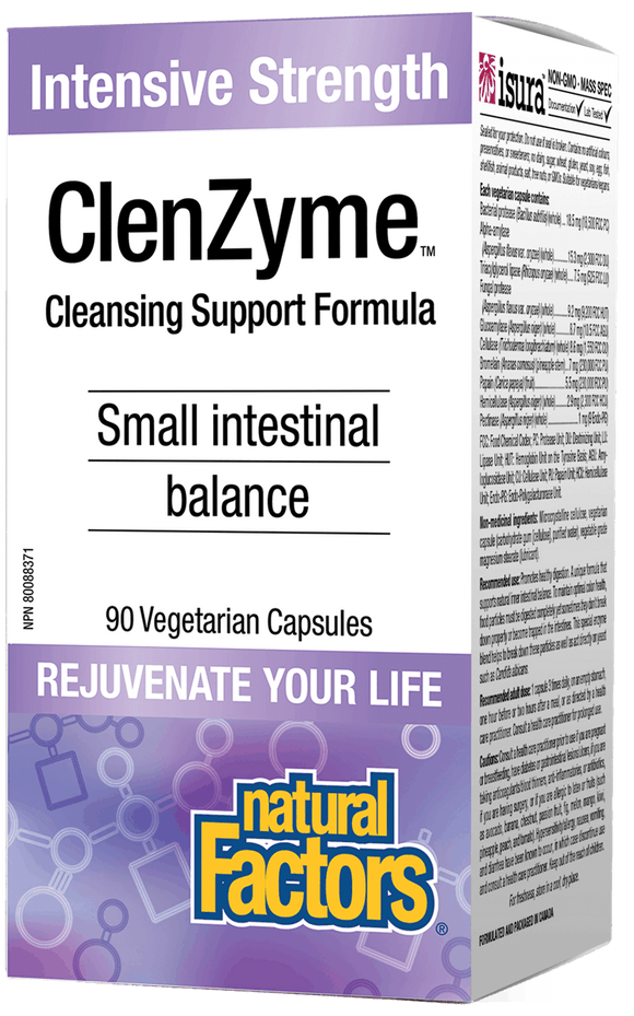 Natural Factors ClenzDida™ Intensive Strength, 90 Vcapsules