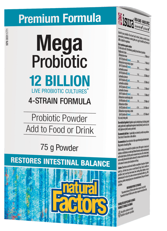 Natural Factors Mega Probiotic Powder 75 g
