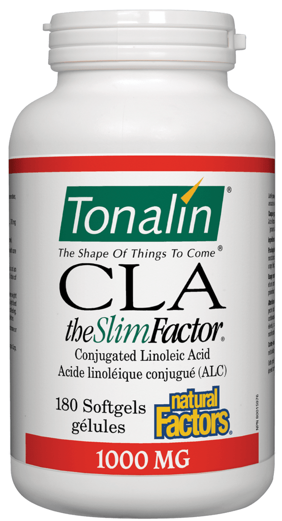 Natural Factors Tonalin CLA, 180softgels