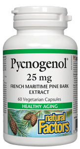 Natural Factors Pycnogenol, 60 caps