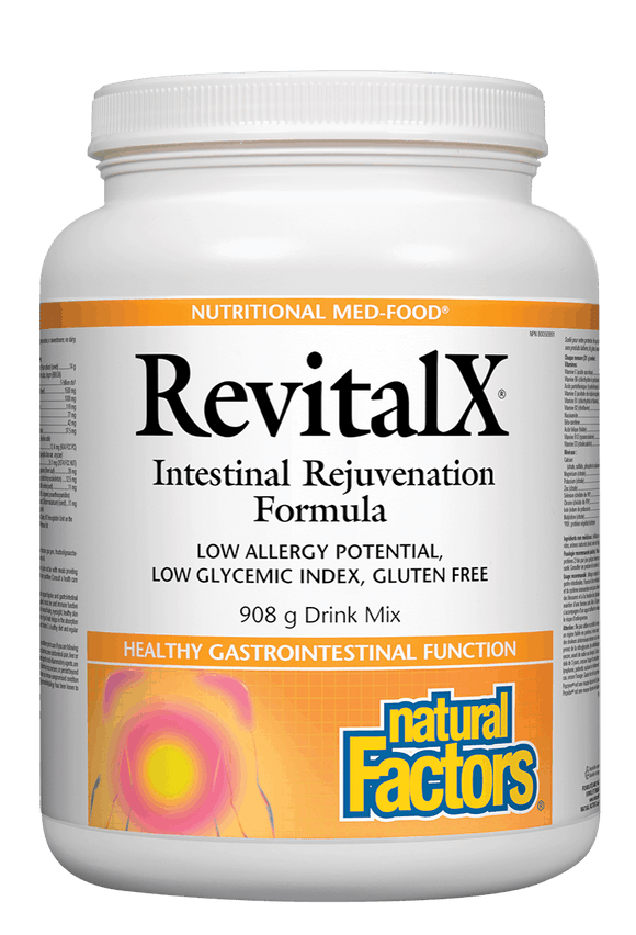 Natural Factors RevitalX Intestinal Rejuvenation Formula, 908g