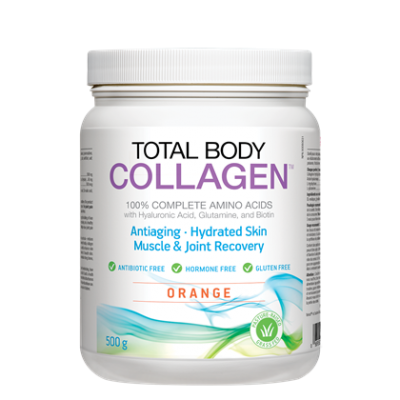 Natural Factors Total Body Collagen Orange, 500 g