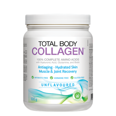 Natural Factors Total Body Collagen Unflavoured, 500 g