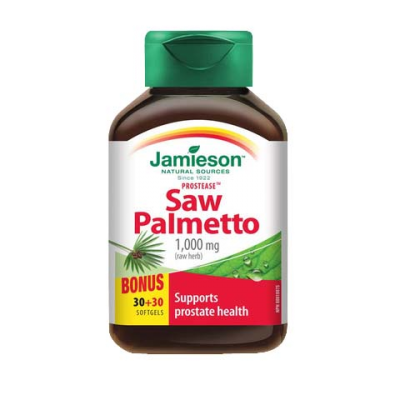 Jamieson Saw Palmetto 30+30 BONUS softgels