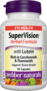 Webber Naturals SuperVision Herbal Formula with Lutein, 90 caps