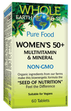 NF Whole Earth and Sea Women's 50+ Multivitamin and Mineral, 60 tablets