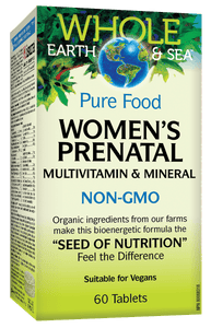 Natural Factors Women's Prenatal 60 tablets