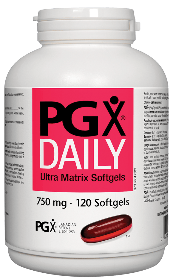 Natural Factors PGX® Daily Ultra Matrix, 120 softgels