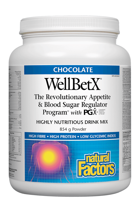 Natural Factors WellBetX™ Meal Support Drink Mix - Chocolate