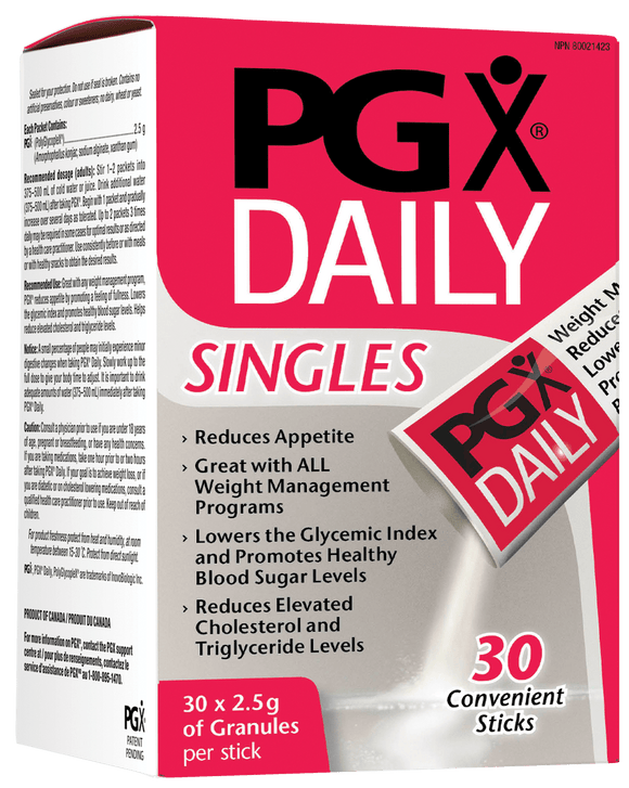 Natural Factors PGX Daily Singles, 2.5g (30packets)