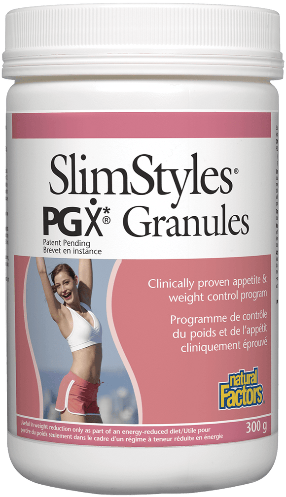 Natural Factors SlimStyles™ PGX Granules, 300g