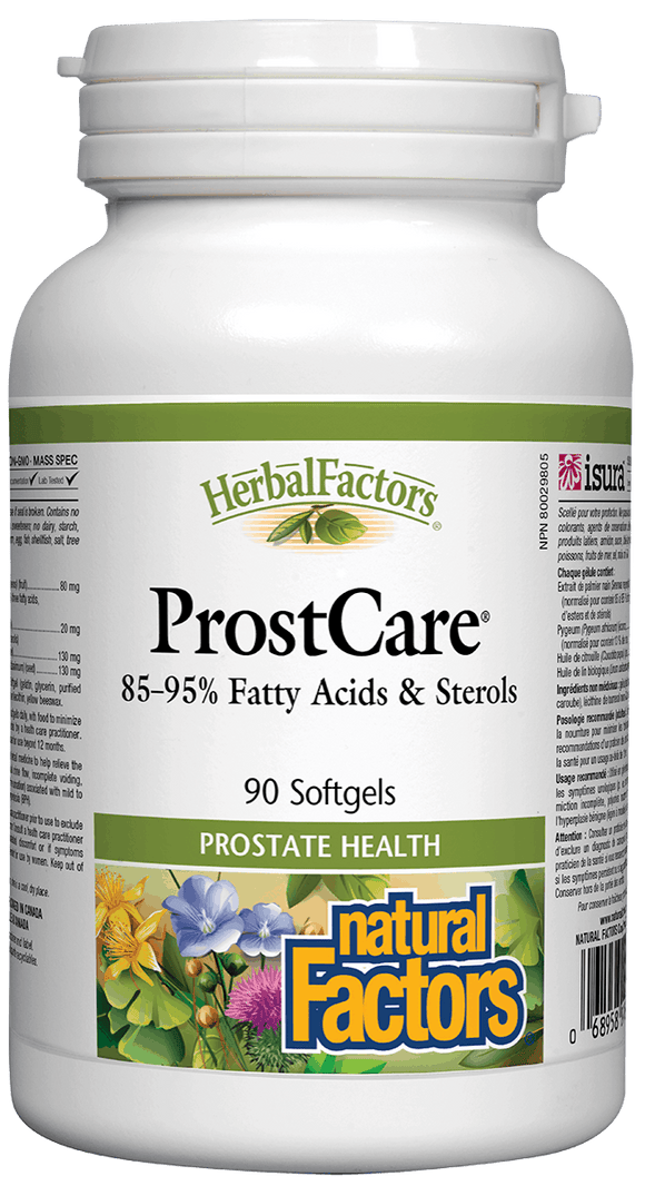 Natural Factors Prost Care, 90 softgels