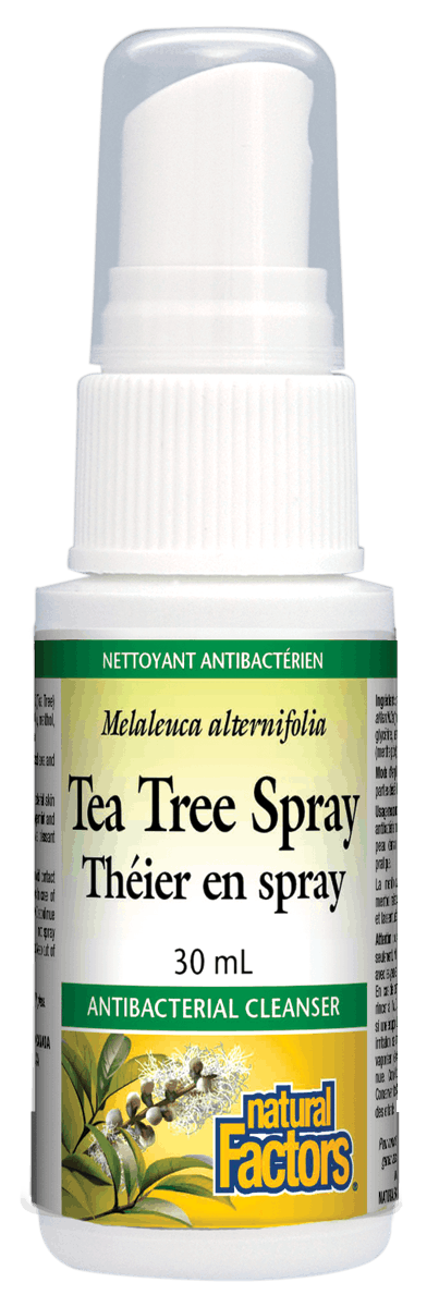 Natural Factors Tea Tree Spray, 30ml