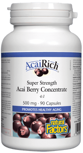 Natural Factors AcaiRich™, 500mg, 90 caps
