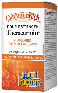 CurcuminRich™ Double Strength Theracurmin™ 60mg,  60 Vegetarian Capsules