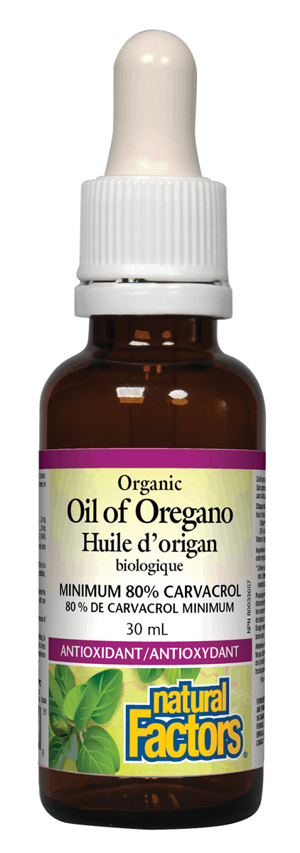 Natural Factors Organic Oil of Oregano, 30 mL