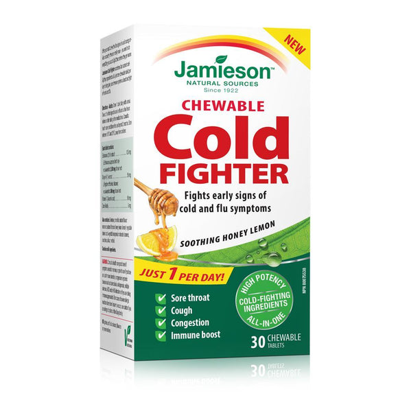 Jamieson Cold Fighter 30 Chewable Tablets