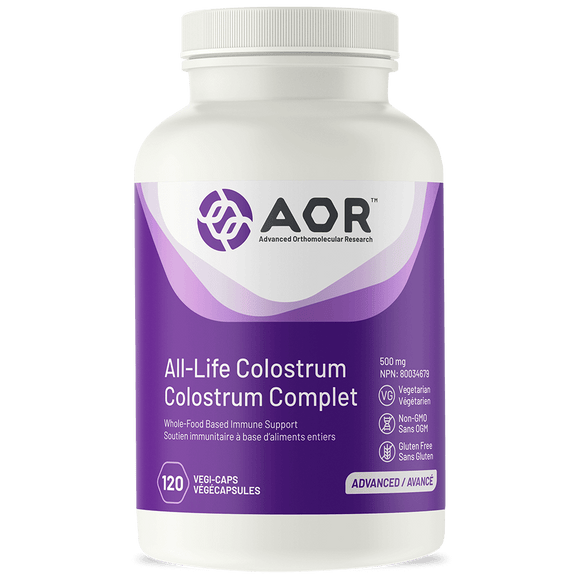 AOR All-Life Colostrum 120 vegi capsules