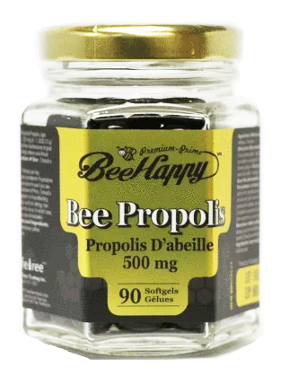 Bee Happy Bee Propolis 500mg, 90 softgels