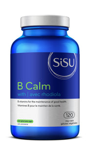 SISU B Calm with Rhodiola, 120 vcaps