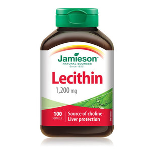 Jamieson Lecithin 1200 mg, 100 Softgels