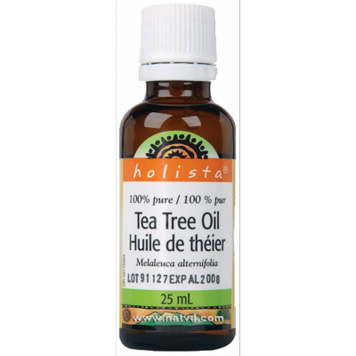Holista Tea Tree Oil 100% Pure, 25 ml