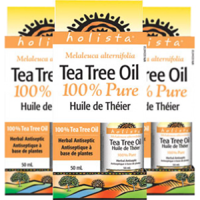 (Promotional Item) 3 x Holista Tea Tree Oil 100% Pure, 50 ml