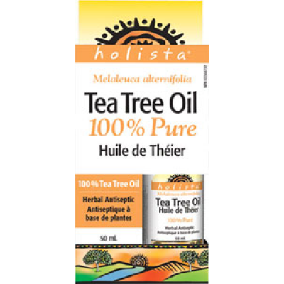 Holista Tea Tree Oil 100% Pure, 50 ml