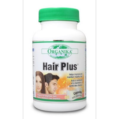 Organika Hair Plus, 480mg, 60 capsules