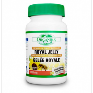 Organika Royal Jelly, 1000mg, 30 softgels