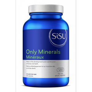 SISU Only Minerals, 120 Caps