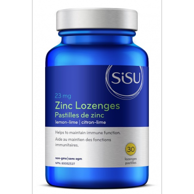 SISU Zinc Lozenges Lemon-Lime, 30 Lozenges