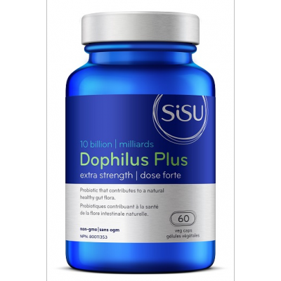 SISU Dophilus Plus Extra Strength, 60 vcaps