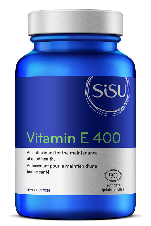 Sisu Vitamin E 400IU, 90 softgels