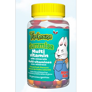【clearance】Treehouse Multivitamin with minerals Gummies, 60 gummies EXP:2021/09