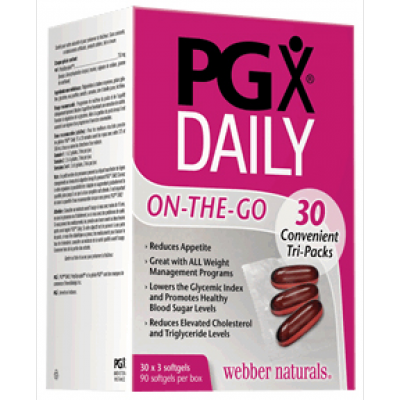 Webber Naturals PGX® Daily On-the-go 30 Convenient Tri-Packs