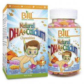 Bill Natural Sources Natural DHA+Calcium Chewables 90 tablets