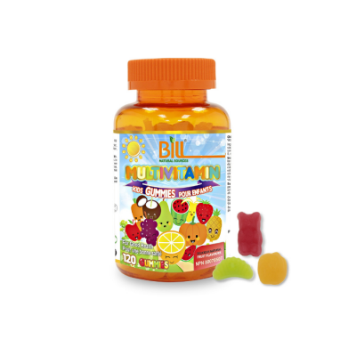 Bill Natural Sources Kids Multivitamin Gummies, 120 gummies
