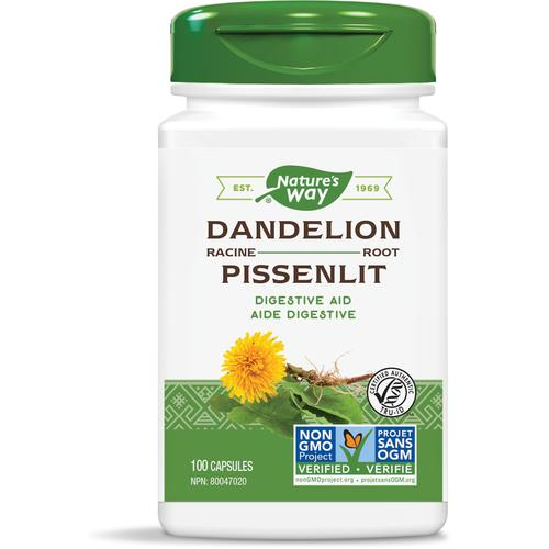 Nature's Way Dandelion Root, 100Vcaps