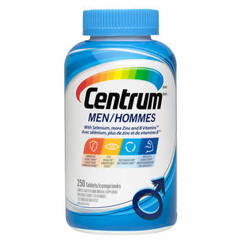 【clearance】Centrum Complete Multivitamin & Mineral Supplement Men, 250 tabs  EXP:2021/05