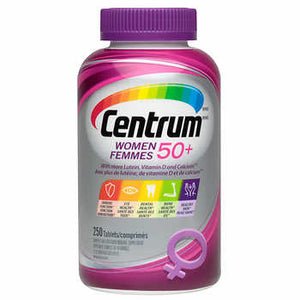 Centrum Complete Multivitamin & Mineral Supplement Women 50+, 250 tablets