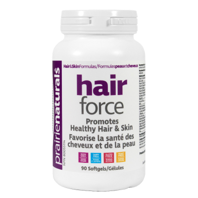 Prairie Naturals Hair-Force, 90 softgels
