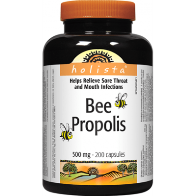 Holista Bee Propolis, 500mg, 200 caps
