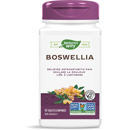 Nature's Way Boswellia, 60 tabs